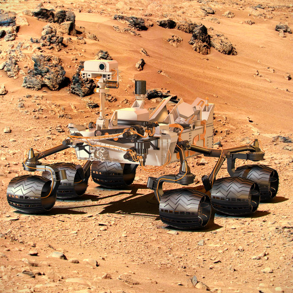 mars rover papercraft - photo #26