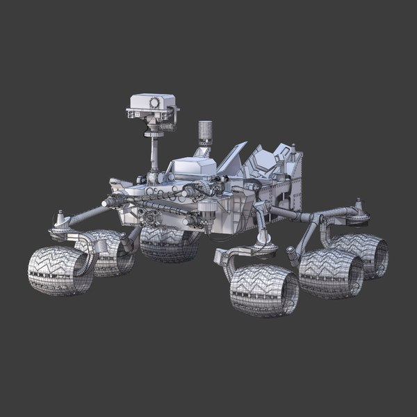 Simple Mars Rover Coloring - Pics about space