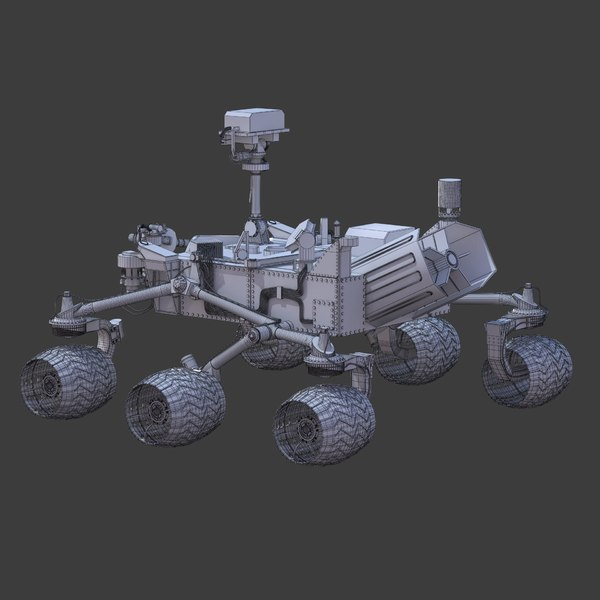 curiosity rover scale model - photo #18