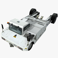 3d model tpx-200-s towbarless aircraft tractors