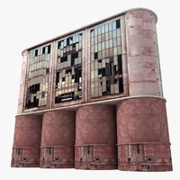 3d building industrial