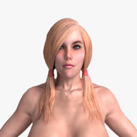 3d model topless ready games