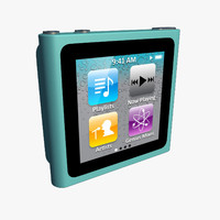 3d model ipod nano 6g