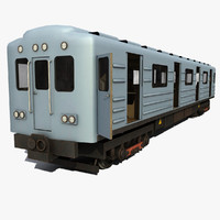subway 2 3d model