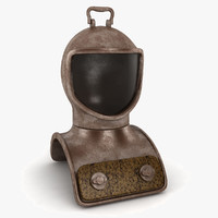 3dsmax diving helmet