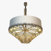 3d model chandelier sigma l2