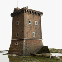 medieval tower xv century max