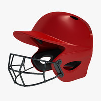 3ds max baseball helmet