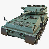 british fv101 scorpion tank 3d 3ds