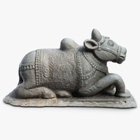 Sculpture Indian Cow