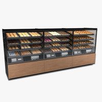 Doughnut and Bagel Display Case