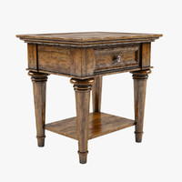 Classical Style End Table