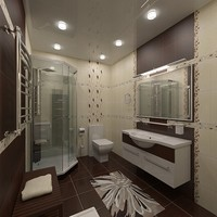 3d bathroom interior 2