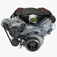 2014 Chevrolet Corvette V8 Engine