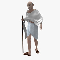 Mahatma Gandhi (Animated Dandi Walk)