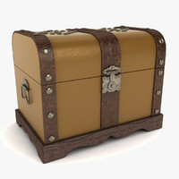 colonial trunk 3ds