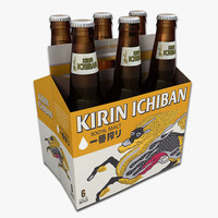 Six Pack of Kirin Beer