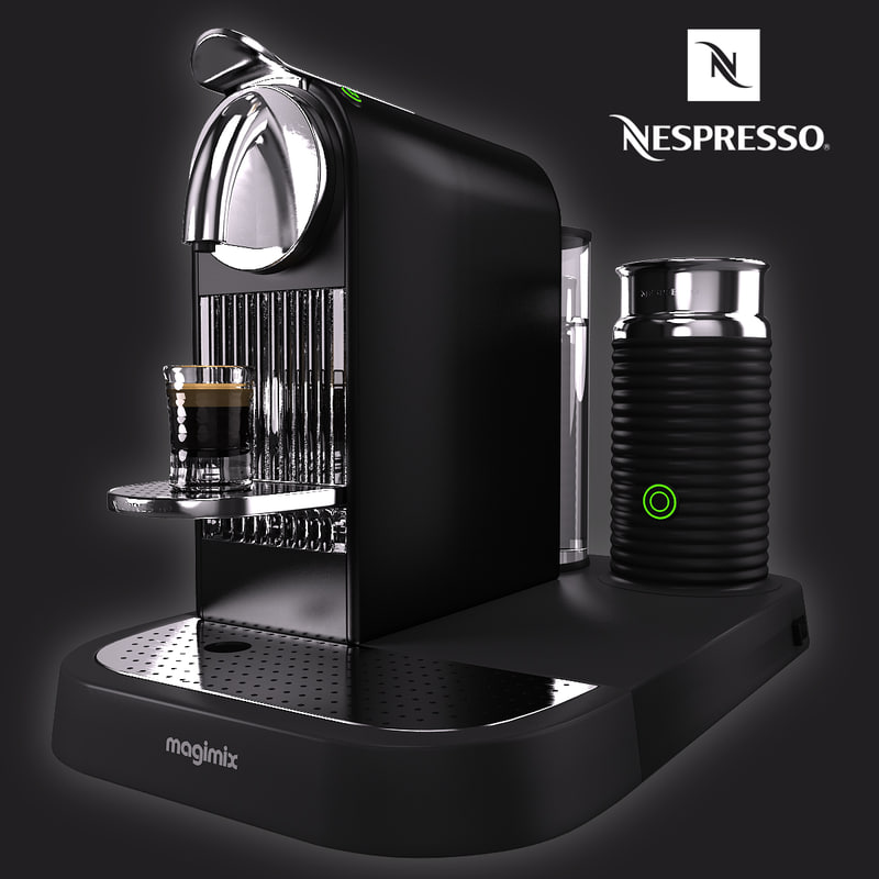nespresso magimix citiz milk 3d max. Black Bedroom Furniture Sets. Home Design Ideas