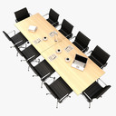 conference table 3D models