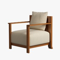 max armchair wood