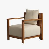 max armchair wood