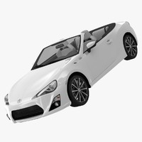toyota ft-86 open concept 3ds