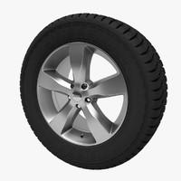 3d model jeep grand wheel mesh