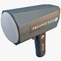 3ds jugs pro-sport radar gun