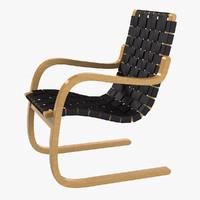 Alvar Aalto Artek 406 Chair