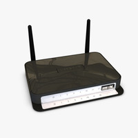 netgear wireless router 3d 3ds