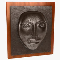 Face Wall Plaque