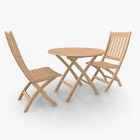 Foldable Furniture Set 01