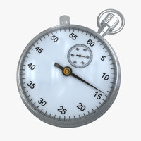 maya stopwatch modelled
