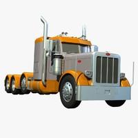 389 axle 3d model