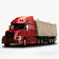 vnl670 trailer truck