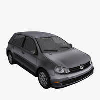 3d volkswagen golf model