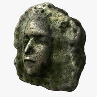 maya rock face
