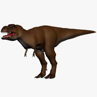 3d tyrannosaurus cartoon