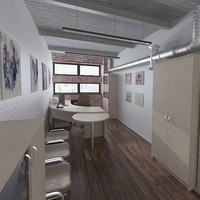 maya office design 2