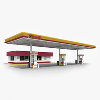 Gas Station - Shell