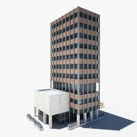 building ready scene 3d model