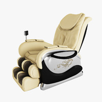 massage chair 3d model