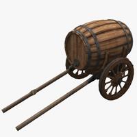maya barrel cask