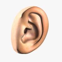 hu ear 3d 3ds