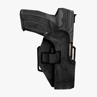 Five-Seven Semi-Automatic Pistol And Holster
