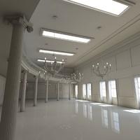 interior scene 3d 3ds