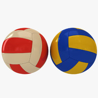 volley ball 3d c4d