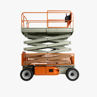 Scissor Lift Rigged
