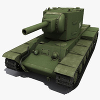 3d kv-2 2 modeled model