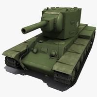 Soviet Tank KV II